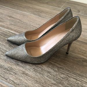 J.Crew Collection shiny pumps